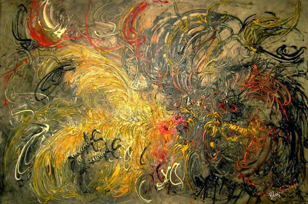 Artwork Karya Seni Abstrak Di Indonesia Siapa Saja Senimannya